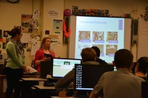 Guests Share UB's ISE Program with Depew Students